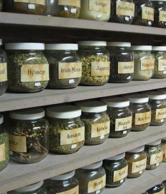 Etonnant HomeHerb Cabinet. Bulk Herbs